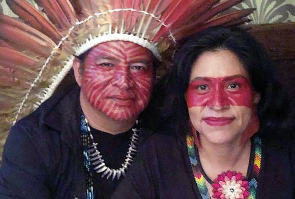 Meet Tashka and Laura Yawanawa